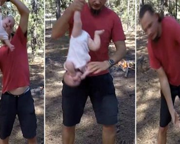 Pai Faz Vídeo Em Que Balança Filha De 4 Meses Como Se Fosse Um Boneco Alegando Ser 'Ginástica Natural' 7
