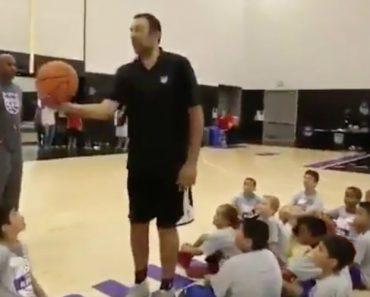 Ex-Basquetebolista Da NBA Deixa Crianças De Queixo Caído Com Cesto Épico 4