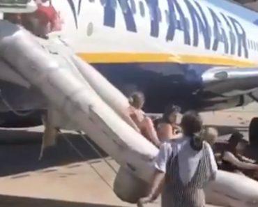 Pânico a Bordo: Avião Da Ryanair Evacuado Em Barcelona 2