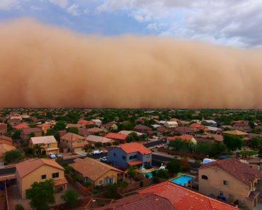 Massiva Tempestade De Pó Atingiu o Arizona 8