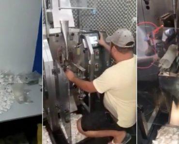 Polícia Apreende Máquinas Que Preparavam 150 Mil Saquinhos De Cocaína Por Dia 7