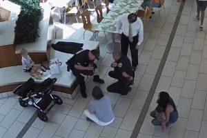 Local Certo, Hora Certa. Polícias a Almoçar Salvam Bebé De Sufocamento 10