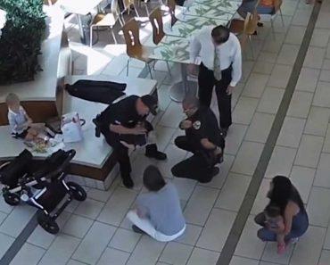 Local Certo, Hora Certa. Polícias a Almoçar Salvam Bebé De Sufocamento 1