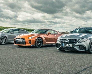 Nissan GT-R vs Audi RS7 vs Mercedes E63 AMG... Qual Destes é o Mais Rápido? 5