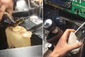 Australiano Cria o Seu Próprio 'Barril' De Cerveja Sobre Rodas Após Modificar Pick-Up 10