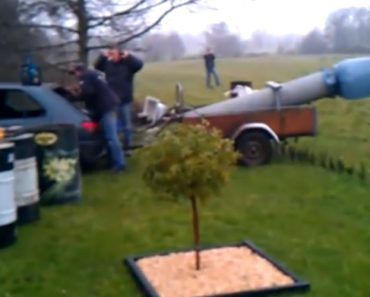 Consequências De Uma Brincadeira Com Um Canhão Caseiro 2