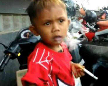 Menino De 2 Anos Fuma 40 Cigarros Por Dia Comprados Pela Mãe 4