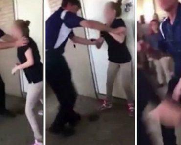 Aluna Usa Taser Em Professor Que Tentava Intervir Durante Uma Briga Na Escola 7