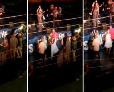 Casal Cai à Água Enquanto Dançava Durante Concerto Junto Ao Rio 6