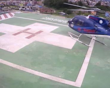 Helicóptero Sofre Acidente Ao Aterrar No Heliporto De Hospital 9