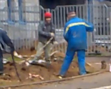 Nova Técnica Russa Para Escavar Um Buraco 13