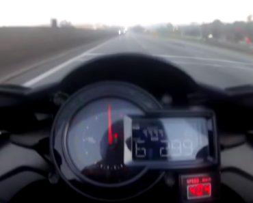 Motociclista Em Kawasaki H2 Filmado a 400 Km/h Em Rodovia 4
