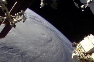 NASA Mostra Furacão Lane Visto Do Espaço a Aproximar-se Do Havai 10
