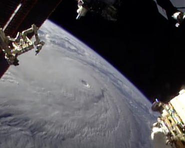NASA Mostra Furacão Lane Visto Do Espaço a Aproximar-se Do Havai 6