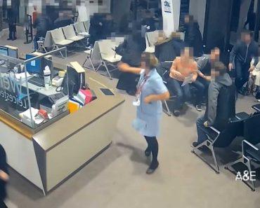 Pânico Em Sala De Espera De Hospital Após Esfaqueamento 7