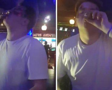 Homem Bebe 30 Shots Em Menos De 1 Minuto 1