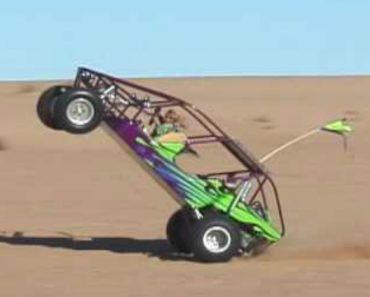 Menino De 10 Anos Mostra As Suas Habilidades Ao Volante De Um Buggy 6