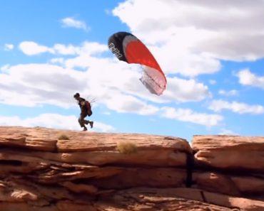 Jovem Escapa Por Pouco a Salto De Parapente Falhado 9