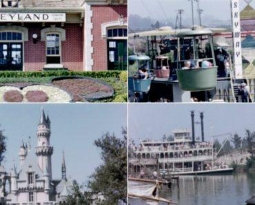 Vídeo a Cores Mostra Como Era a Disneyland Em 1956 3