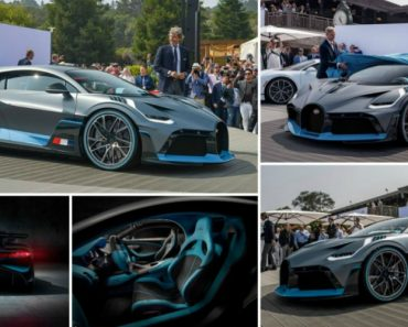 Conheça o Divo... a Mais Recente Bomba Da Bugatti Que Custa 5 Milhões De euros! 8