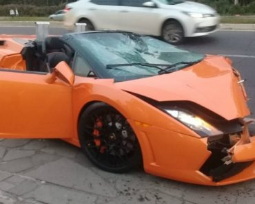 Condutora Destrói Lamborghini Gallardo Emprestado e Sem Seguro 8
