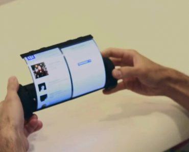 Investigadores Criam Um Tablet Com Ecrã Dobrável Como Nunca Viu 5