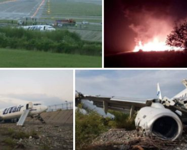 Avião Com 164 Passageiros Incendeia-se Ao Sair Da Pista Durante a Aterragem 1