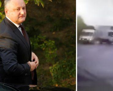 Imagens Mostram Momento Do Aparatoso Acidente Do Presidente Da Moldávia 1