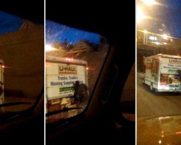 Homem Tenta Assaltar Carrinha De Distribuição e Acaba Pendurado Durante Viagem 7