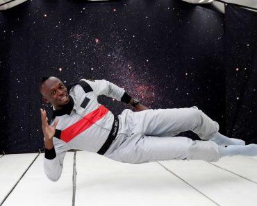 Usain Bolt Corre Em Gravidade Zero e Parte à Conquista Do Espaço 5