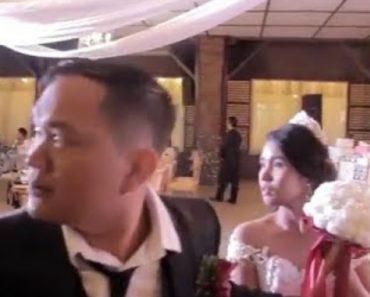 Tufão Mangkhut Atinge Casamento e Deixa Noivos Aterrorizados 5
