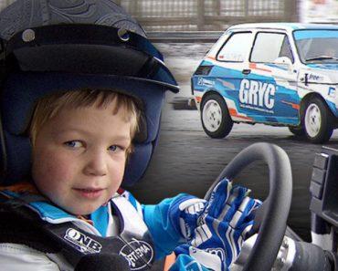 Menino De 4 Anos Já é Um Verdadeiro Profissional Ao Volante De Um Fiat 126 2