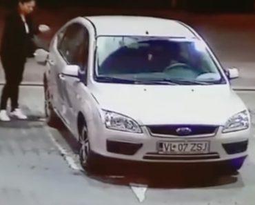 Condutora Atrapalhada Faz Rega De Gasolina Em Posto De Combustível Ao Tentar Abastecer Carro 6