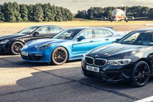 """M5, E63 S Ou Panamera Turbo S: Que """"Seta"""" Voa Mais Rápido? 10"""