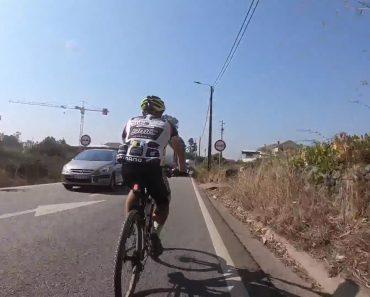 Ciclista Português Mostra Como a Morte Lhe Passou Tão Perto 5