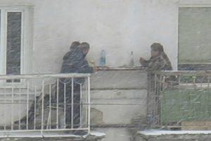 Para Estes Vizinhos Nenhuma Tempestade De Neve Vai Impedir a Boa Convivência 10