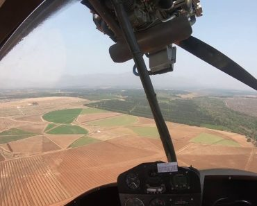 Ocupante De Ultraleve Filma Aterragem De Emergência Após Paragem Do Motor 5