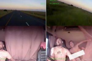 Mulher De Camionista Descobre Traição Após Vídeo De Acidente Do Marido Se Tornar Viral 7