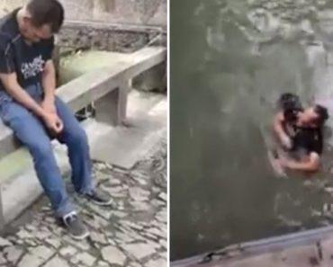 Homem Cai Ao Rio Após Adormecer No Lugar Errado 6