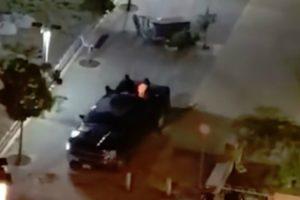 Assaltantes Deixam Rasto De Destruição Ao Fugirem Em Carrinha Com Caixa ATM a Arrastar Pelas Ruas 9