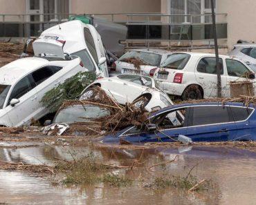 Ilha De Maiorca Atingida Por Chuvas Torrenciais Assustadoras 6