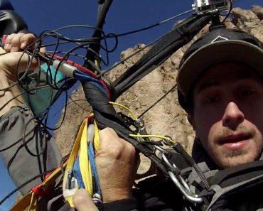 Paraquedistas Ficam Com Paraquedas Presos Um No Outro e Passam Por Momento Assustador 7