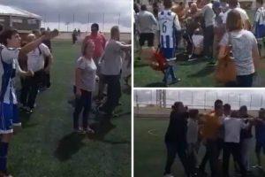 Pais Dão o Mau Exemplo Em Agressões a Árbitro e Treinador Durante Jogo De Futebol 8