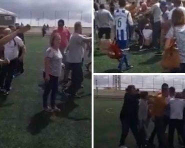 Pais Dão o Mau Exemplo Em Agressões a Árbitro e Treinador Durante Jogo De Futebol 6