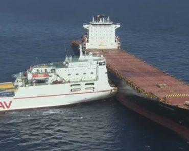 Colisão Entre Navios Em Alto Mar Provoca Mancha De Petróleo Que Chegou Às Praias De França 6