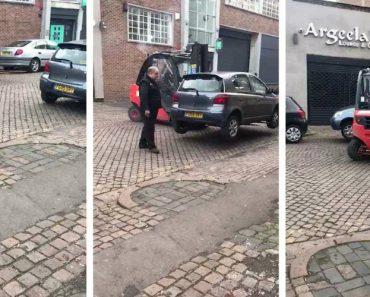 O Que Acontece Quando Se Deixa Carro Mal Estacionado à Porta De Empresa Detentora De Empilhadores 1