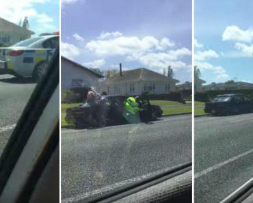 Condutor Rouba Carro Da Polícia e Polícia Persegue-o Usando o Carro Do Condutor 9