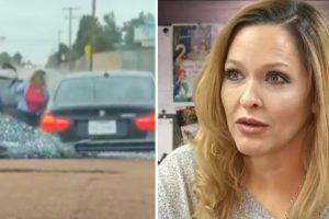 Mãe Castiga Filho De 14 Anos Com Cinto Ao Apanhá-lo Em Flagrante a Conduzir Carro Da Família Sem Autorização 12