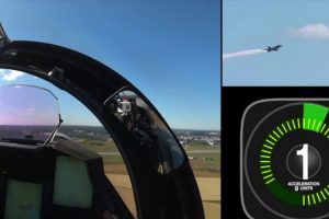 Imagens Em Tempo Real Revelam a Quantidade De G's Que Atinge Um Piloto Acrobático 9