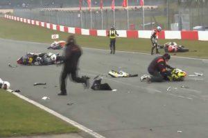 Início De Prova De Motociclismo Fica Marcado Com Brutal Acidente 10